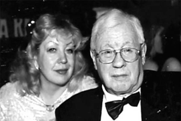 Юрий Саульский с четвертой женой - Татьяной Николаевной Каревой