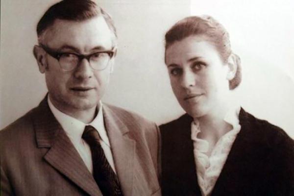 На фото: Юрий Саульский и Валентина Толкунова
