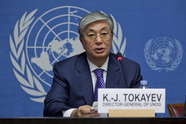 Касым-Жомарт Токаев - генеральный директор ООН в Женеве