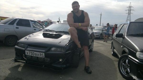 Эксклюзивная машина Кирилла Сарычева