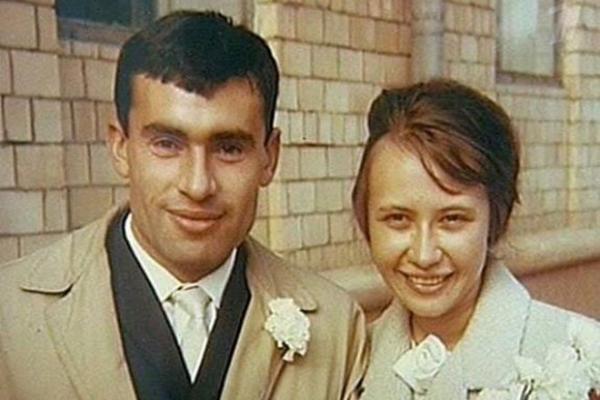 Супруги Бокерия в молодости