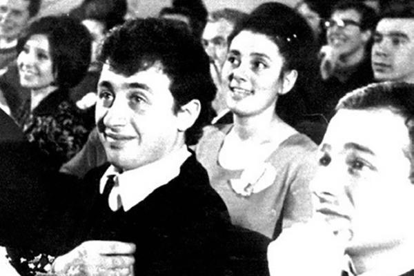 На фото: Леонид Якубович в молодости