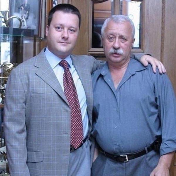 Леонид Якубович с сыном Артемом Леонидовичем Антоновым