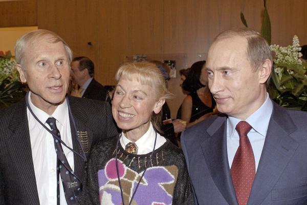 На фото: Белоусова и Протопопов в России