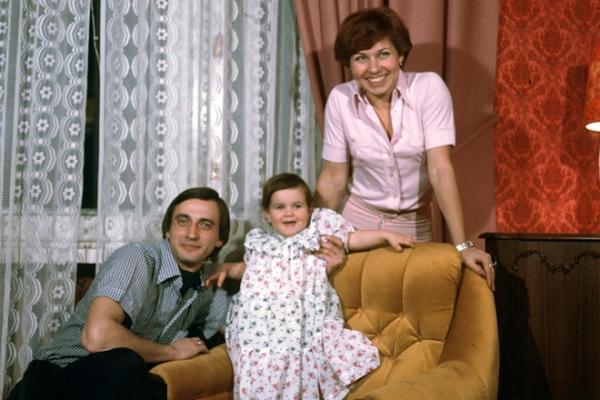 Александр, Людмила и их дочь Юлия