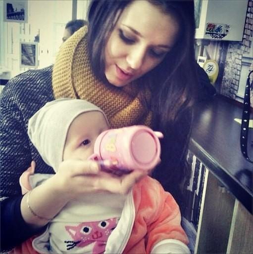 На фото: Татьяна Корж с дочкой Эмилией
