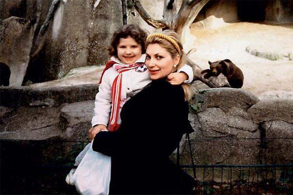 Нина Спада с дочерью Дунаевского, Алиной