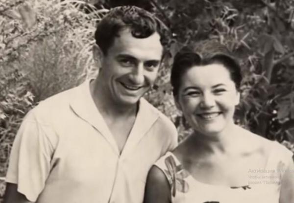 Марк Захаров и Нина Лапшинова