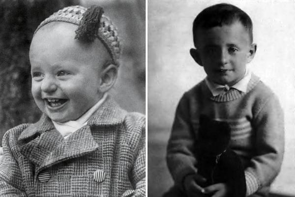 На фото: Марк Захаров в детстве
