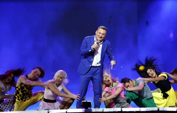 Михаил Бублик на сцене