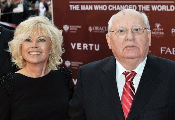Михаил Горбачев и его дочь Ирина