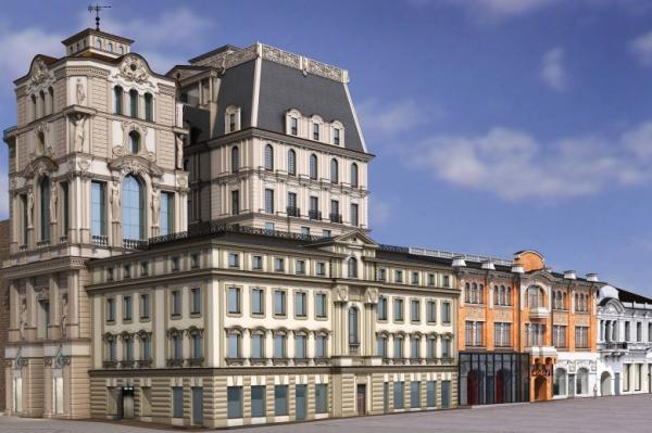Так должен выглядеть проект Михаила Косова — «Галерея Атриум»