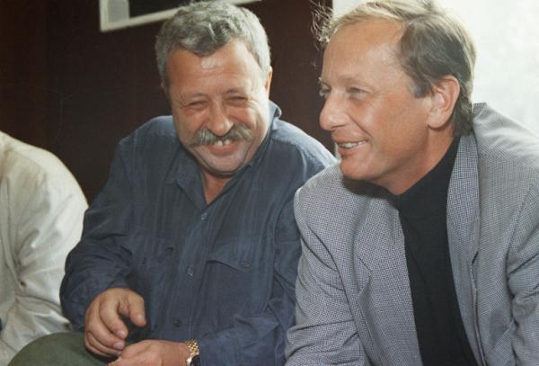 Михаил Задорнов и Леонид Якубович