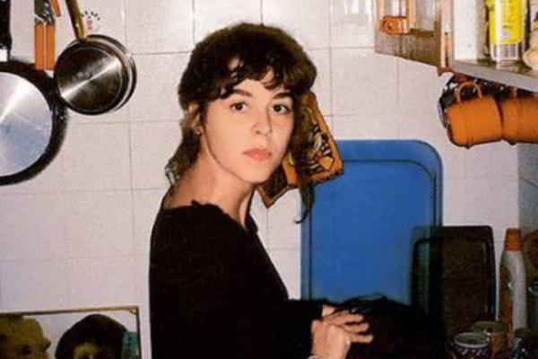 На фото: вторая жена Никаса Сафронова Франческа