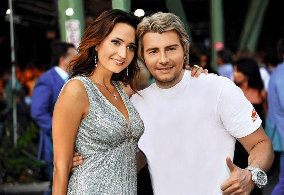 На фото: Николай Басков и Софи Кальчева