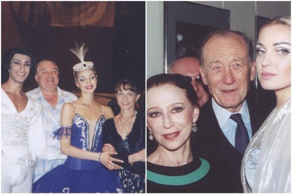 Николай Цискаридзе и Анастасия Волочкова, 1998 год. Большой театр. «Лебединое озеро»