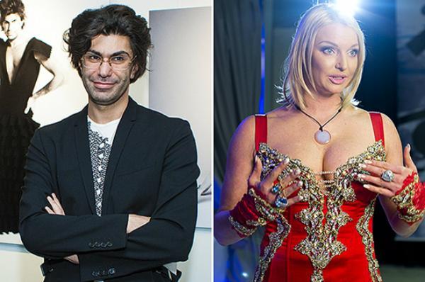 Николай Цискаридзе и Анастасия Волочкова