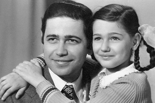На фото: Евгений Петросян с дочерью