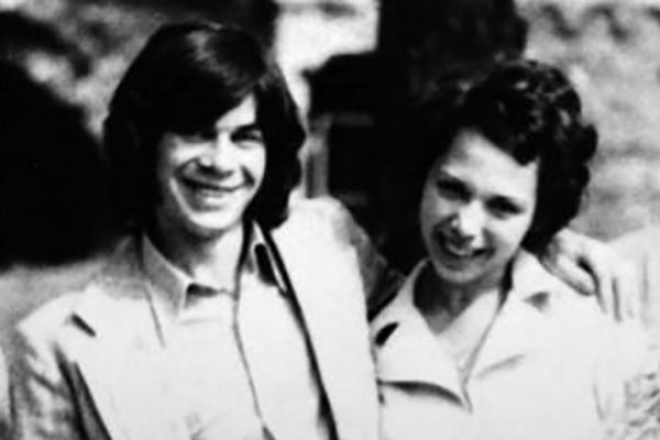 Фото с первой женой Ириной