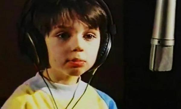 На фото: Родион Газманов в детстве