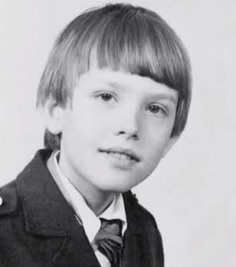 Олег Погудин в детстве