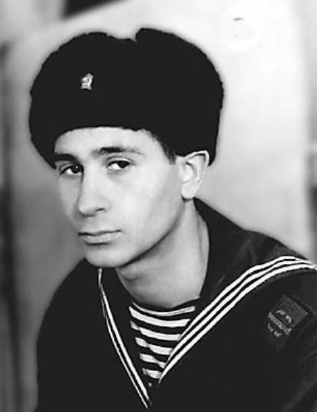 Онегин Гаджикасимов на службе во флоте