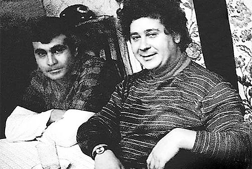 Онегин Гаджикасимов с братом Низами