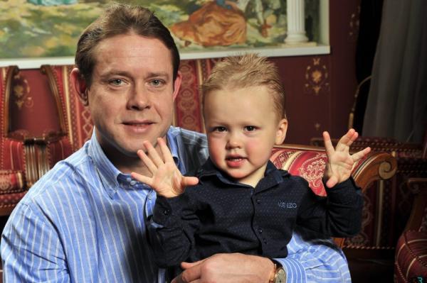 На фото: Павел Буре с Сыном Павлом