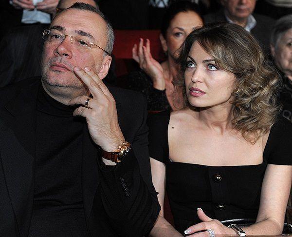 На фото: Константин Меладзе и его первая жена Яна