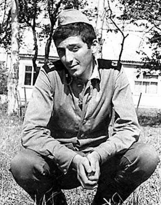 Григорий Лепс в рядах Советской Армии