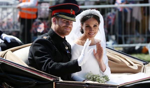 Бракосочетание Принца Гарри и Меган Маркл
