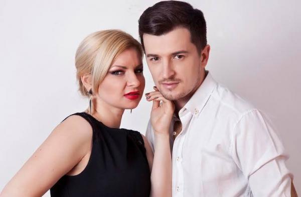 На фото: Раду Сырбу с женой Анной