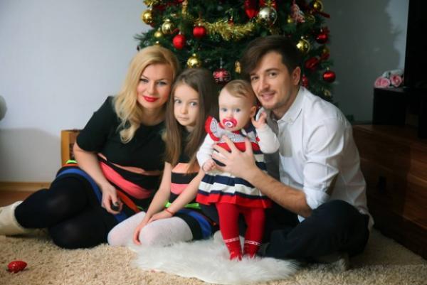 На фото: Раду Сырбу и его семья