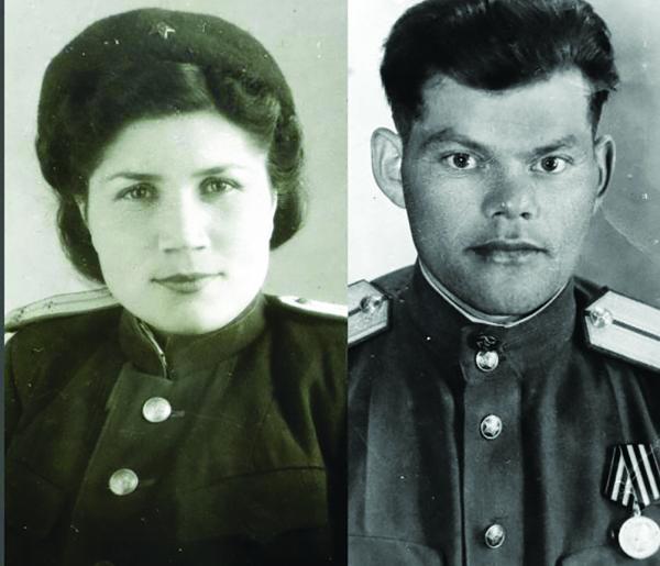 Михаил Семёнович и Зинаида Абрамовна Газмановы