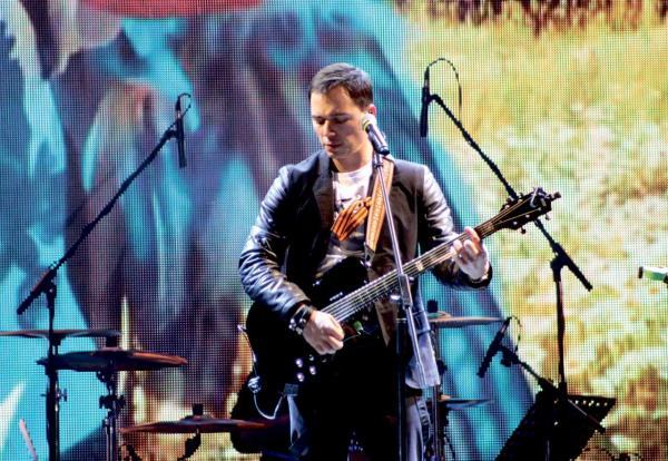 На фото: Родион Газманов на концерте