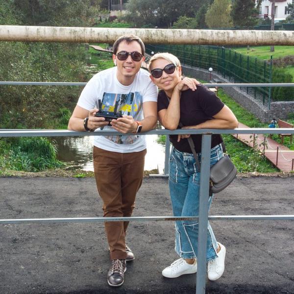 Родион Газманов и его мама Ирина Павловна