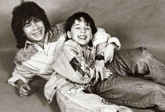 Одег Газманов с сыном Родионом