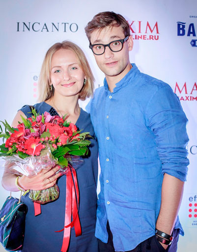 На фото: Роман Полянский с женой