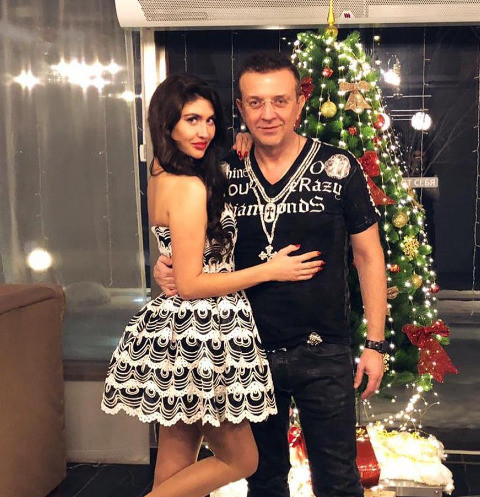 Рома Жуков с любовницей Ольгой Илларионовой