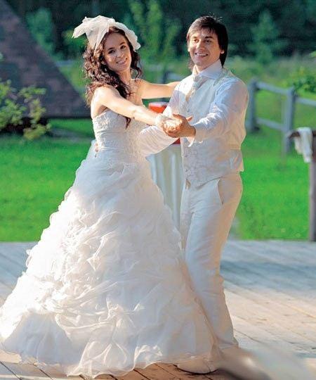 На фото: свадьба Руслана и Ирины