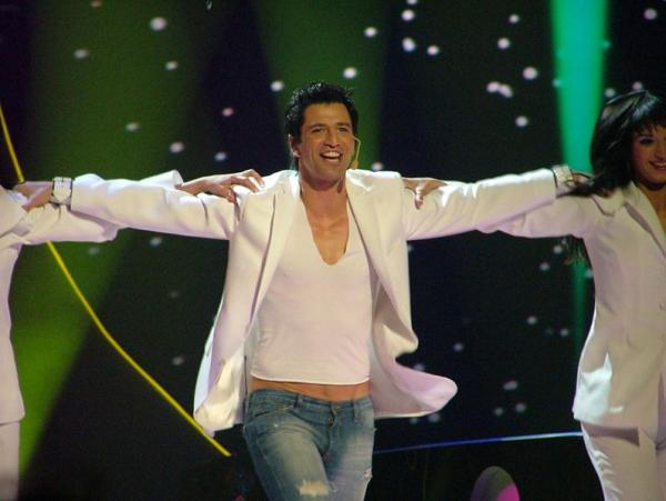 Сакис Рувас представляет Грецию на Евровидении 2004