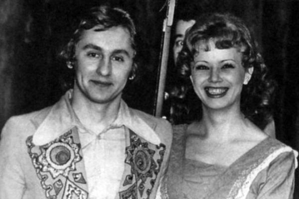 На фото: Сергей и Елена Беликовы в молодости
