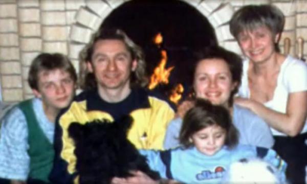 Сергей Беликов с семьей