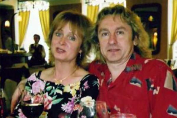 Сергей Беликов с бывшей женой Еленой