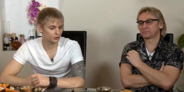 Сергей Беликов с сыном Григорием