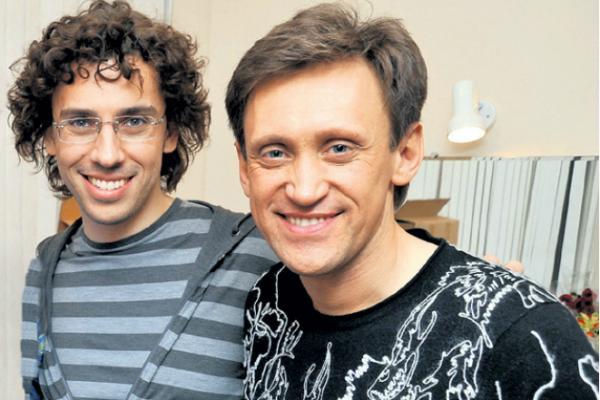 Сергей Дроботенко и Максим Галкин