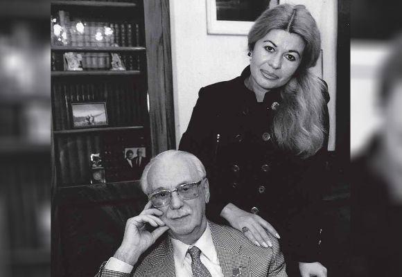 Сергей Михалков и Юлия Субботина