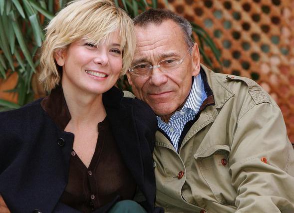 Андрей Михалков и его жена Юлия Высоцкая