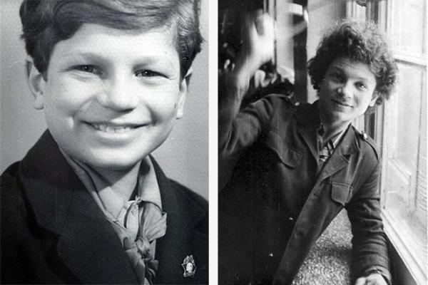 Сергей Минаев в детстве