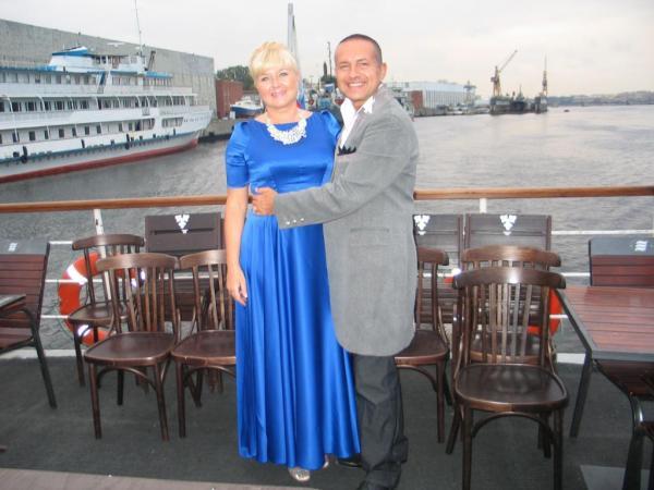 На фото: Сергей Рогожин с женой Светланой